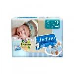 PAÑAL INFANTIL CHELINO FASHION & LOVE T2 3-6 KG 28U