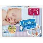 PAÑAL INFANTIL CHELINO FASHION & LOVE T4 9-15 KG 34U