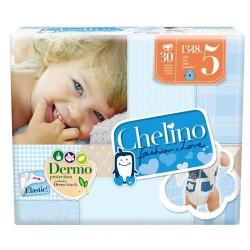 Pañal Infantil Chelino Fashion & Love T5 13-18kg 30 uds.