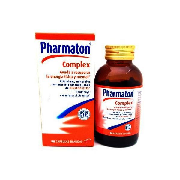 Pharmaton Complex 90 Cápsulas Blandas - Pharmabuy