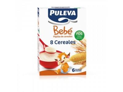 Puleva Bebé 8 Cereales Fos 600g