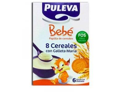 Puleva Bebé 8 Cereales Galleta María Fos 600g