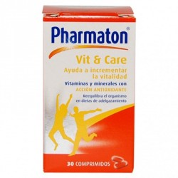 Pharmaton Vit + Care 30 Comprimidos