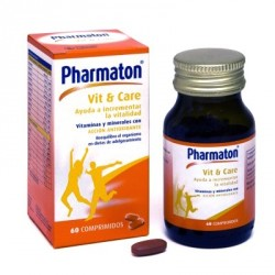Pharmaton Vit + Care 60 Comprimidos