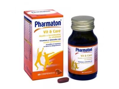 Pharmaton Vit + Care 60 Comprimidos