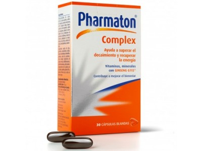 Pharmaton Complex 30 Cápsulas