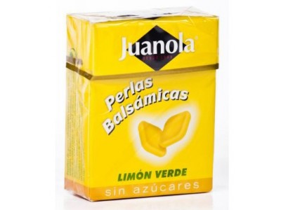 Juanola Perlas Limón Verde 25g