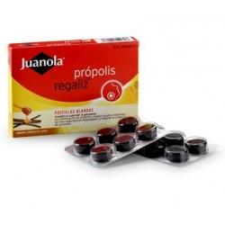 Juanola Propolis Regaliz 24 Pastillas