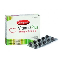 Ceregumil Vitamix Plus 30 Cápsulas Omega 3, 6 y 9