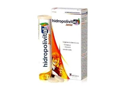 Hidropolivital Junior 4-11 Años 40 Comprimidos