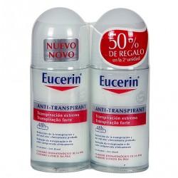 Eucerin Desodorante Transpiración Extrema Roll-On 2 uds.