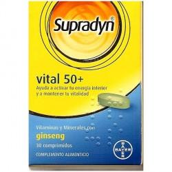 Supradyn Vital 50 +30 Comprimidos