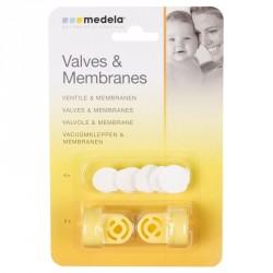 Medela Pack 2 Válvulas y 6membranas