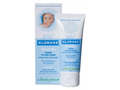 Klorane Bebé Crema Nutritiva Piel Seca 40ml