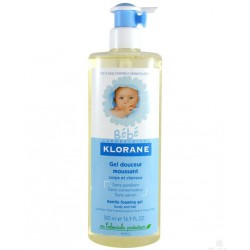 KLORANE BEBE GEL MOUSSANT 500ML