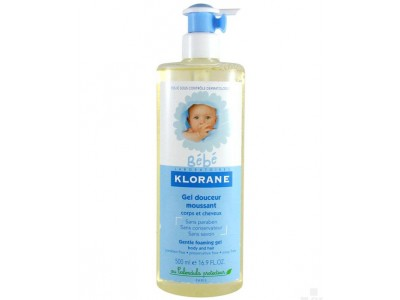 Klorane Bebé Gel Moussant 500ml
