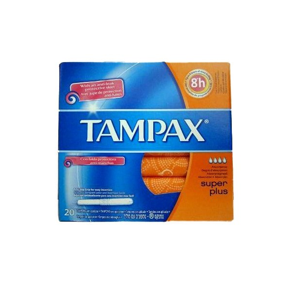 comprar tampax tampon super plus 20 uds. Black Bedroom Furniture Sets. Home Design Ideas