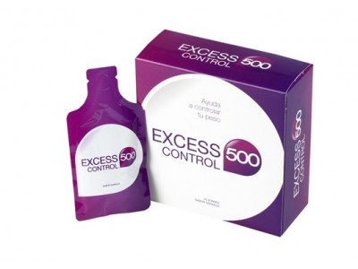 Excess 500 Control 14 Sobres Naranja