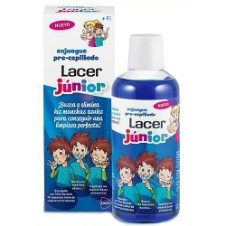 Lacer Colutorio Junior Enjuague Precepillado 500ml
