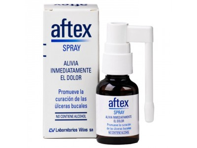 Aftex Spray Bucal 20ml