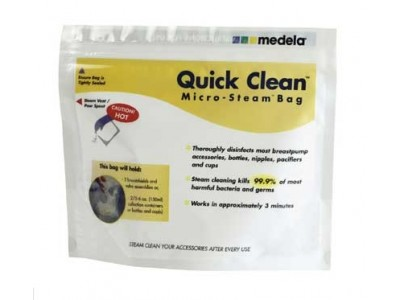 Bolsas Medela para Microondas Reutilizables Quick Clean