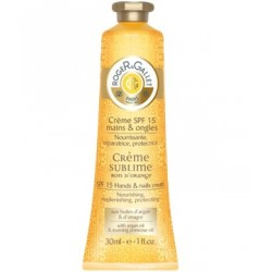 Roger Gallet Crema Sublime Bois D'Orange SPF15 Manos y Uñas 30ml