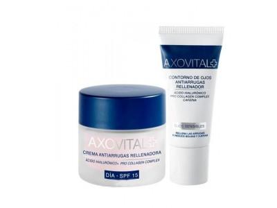 Axovital Antiarrugas Crema Día SPF15 50ml + Contorno Ojos 15ml