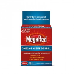 Megared 500mg 40 Cápsulas