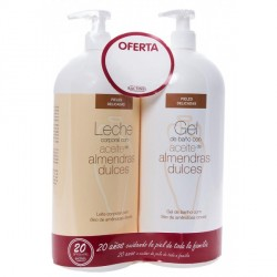 Bactinel Leche Almendras 750ml + Gel Baño 750ml