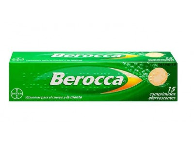 Berocca 15 Comprimidos Efervescentes