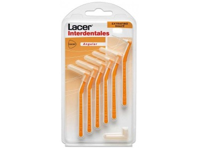Lacer Interdentales Angular Extrafino Suave 6 uds.