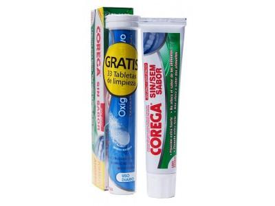 Corega Sin Sabor 70g+30 Tabletas Oxigeno Activo