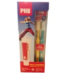 PHB TOTAL PACK PASTA 100 ML + 2 CEPILLOS MEDIO