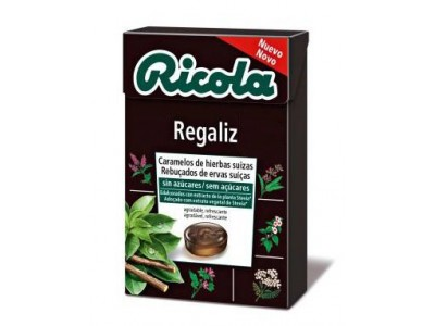 Ricola Caramelos Regaliz 50g