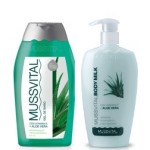 MUSSVITAL PACK BODY MILK ALOE 300ML + GEL ALOE 300ML