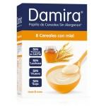 DAMIRA PAPILLA 8 CEREALES CON MIEL 600 GR