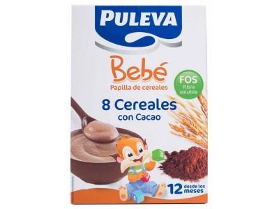 Puleva Bebé 8 Cereales con Cacao Fos 500g