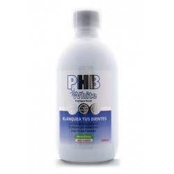 PHB White Enjuague Bucal 500ml