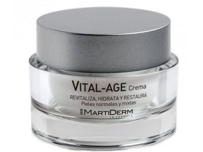 Martiderm Vital-Age Crema 50ml SPF15 Pieles Mixtas