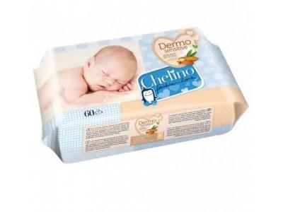 Chelino Toallitas Infantiles Dermo 60 uds.