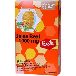 Arko Jalea Real Forte 1000mg 20 Ampollas
