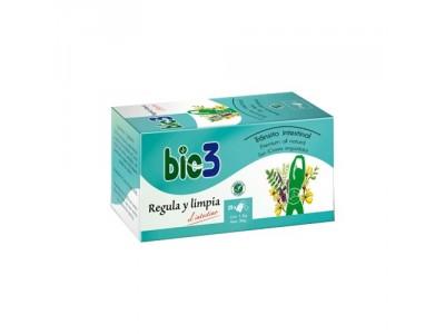 Bio 3 Regula y Limpia 25 Bolsitas Infusión