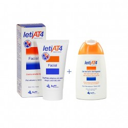 Leti At-4 Pack Crema Facial 50ml + Gel Baño 100ml