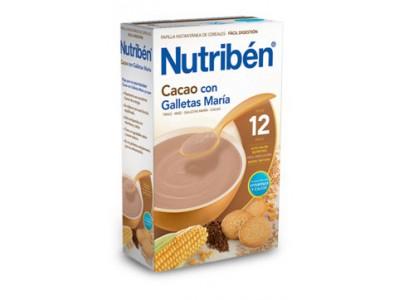 Nutriben Cacao con Galletas Maria 600g