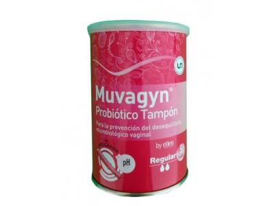 Muvagyn Tampón Probiótico Regular con Aplicador 9 uds.