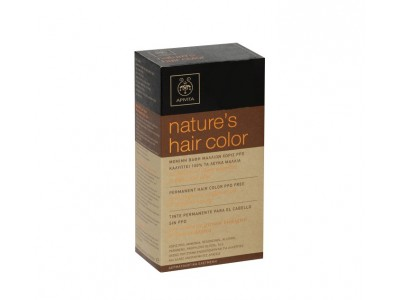 Apivita Nature's Hair Color Tinte 7.35