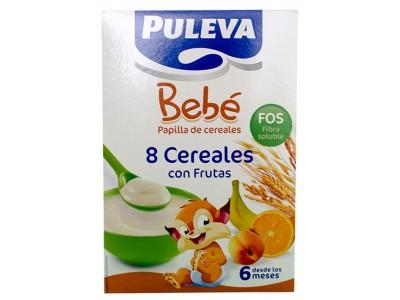 Puleva Bebé 8 Cereales con Frutas Fos 500g