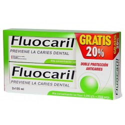 FLUOCARIL DENTÍFRICO 2 X125 ML