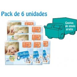 Pack 6 uds. Chelino Pañal Infantil T5 30 uds.
