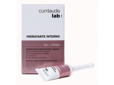 Cumlaude Hidratante Interno Gel Crema 6 uds.